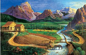 Americká farma