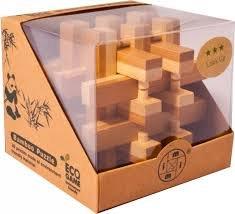 Bambusový hlavolam  - Hranoly - 1