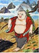 Buddha na cestě