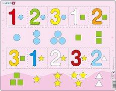 Čísla 1-3 s grafickými znaky