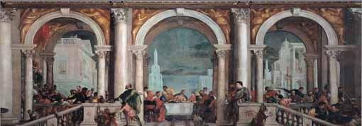 Convivio in casa di Levi, 1573