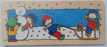 Děti v zimě