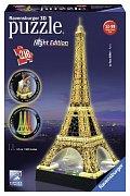 Eiffelova vež svítící - noční edice