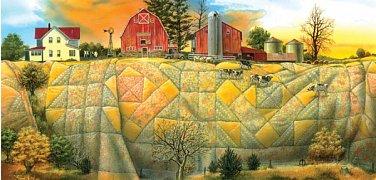 Farma na peřině