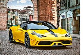 Ferrari 458 žluté