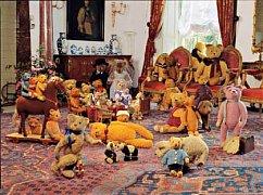 Hrající si medvídci