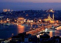 Istanbul v noci, Turecko