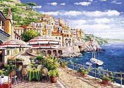 Itálie, pobřeží Amalfi