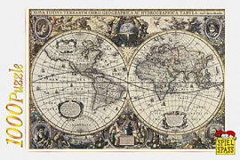 Janssonova mapa ze 17. stol.
