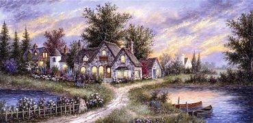 Klidná vesnička