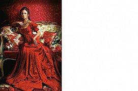 Kráska v červeném
