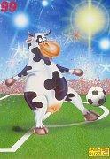 Kráva fotbalistka