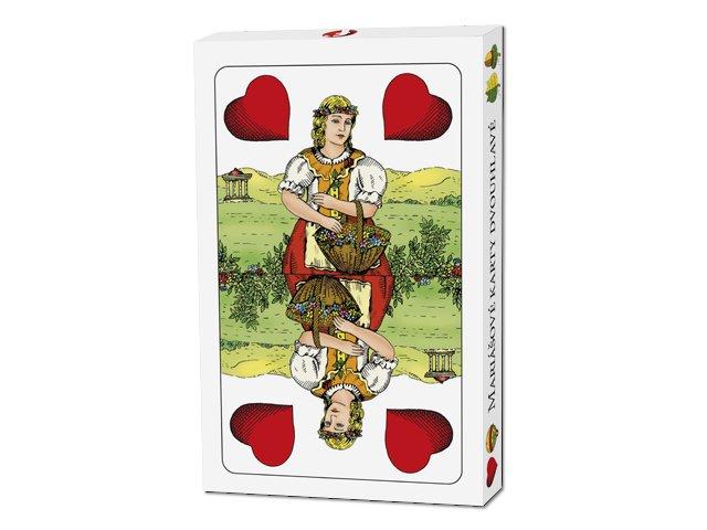 Mariášové karty dvojhlavé - 1