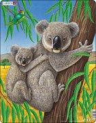 Medvídek Koala s mládětem