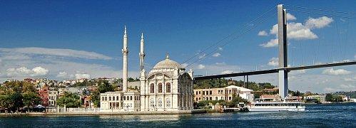 Mešita Ortokoy, Istanbul, Turecko