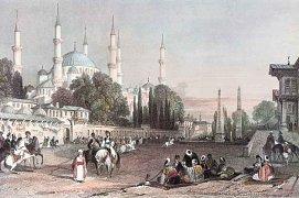 Modrá mešita, Istanbul, Turecko