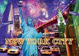 New York svítící