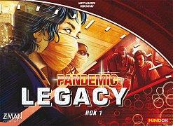 Pandemic Legacy: Červený