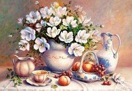 Pozlacená váza