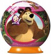 Puzzleball Máša a medvěd