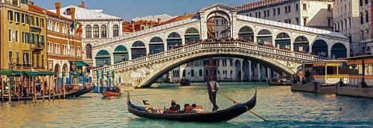 Rialto bridge , Itálie