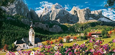 Sellagruppe, Dolomity