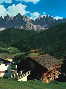 Stavení v Dolomitech - 1