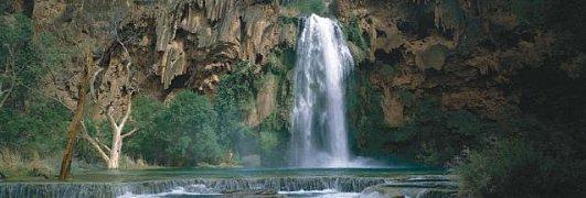 Vodopád, Arizona