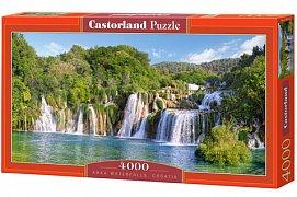 Vodopády, Krk, Chorvatsko