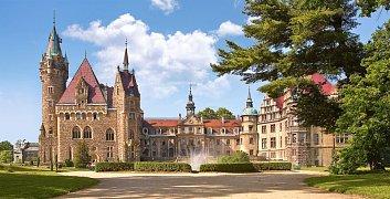 Zámek Moszna, Polsko