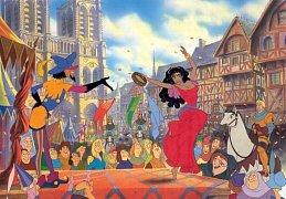 Zvoník u Matky Boží - Esmeralda, tanec
