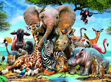 Afričtí přátelé 300d - 1