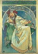 Alfons Mucha: Princezna Hyacinta