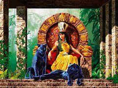 Aztécká královna