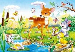 Bambi se zvířátky