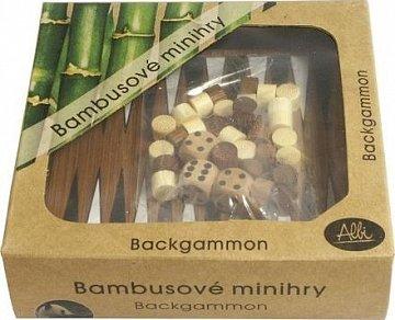 Bambusové minihry – Backgammon - 1