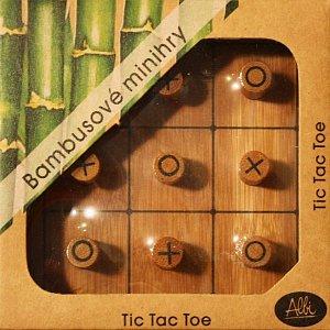 Bambusové minihry – Tic Tac Toe - 1