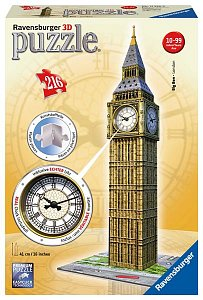 Big Ben s hodinami, Londýn, Anglie - 1