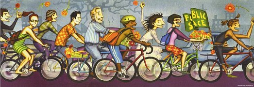 Bike Art, Critical Mass