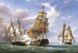 Bitva francouzských fregat