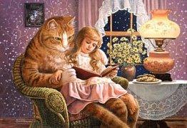 Čtení s kocourem