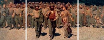 Čtvrtá stávka (tryptych)