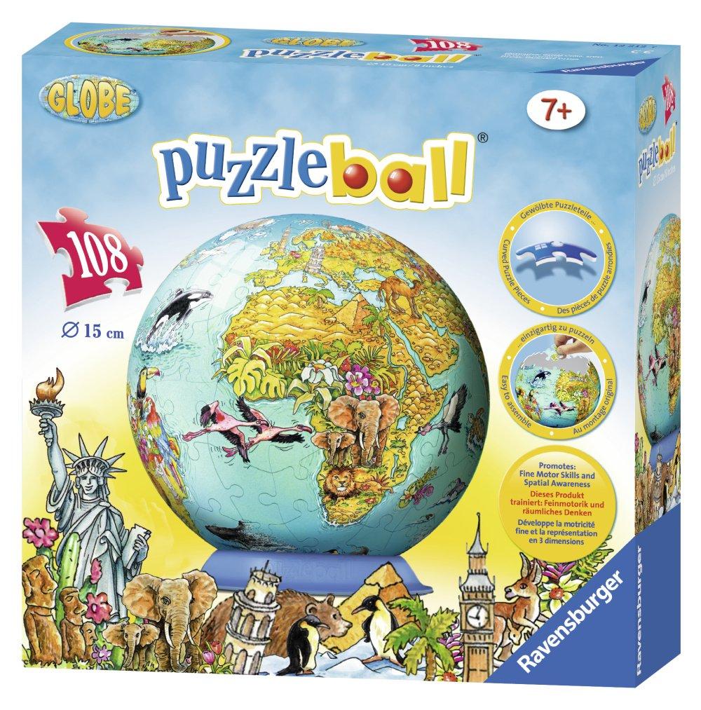 Detska Mapa Sveta Puzzleball 108d Puzzle Prodej Cz
