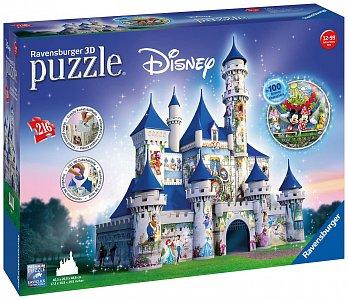 Disney zámek 3D 216 dílků - 1