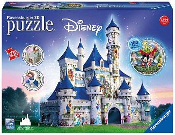 Disney zámek 3D 216 dílků - 2