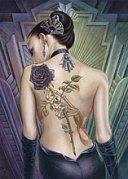 Dívka s růží