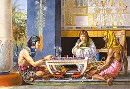 Egypský šachový hráč