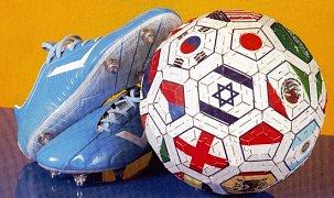 Fotbalový míč - Vlajky