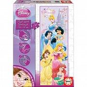 Gigantické puzzle Princezny