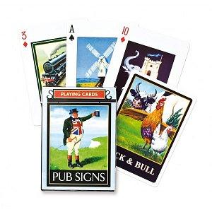 Hrací karty Pub signs - 1